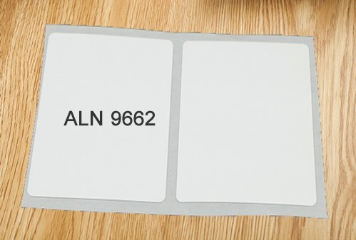 ALN 9662 Label
