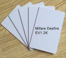 Mifare Desfire EV1 2K